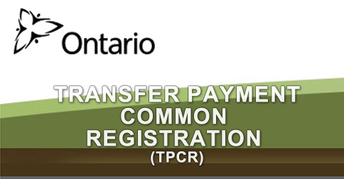 Ontario Grants Transfer Payment Common Registration