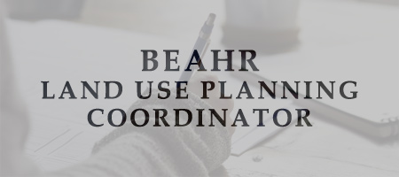 ECO Canada BEAHR Land Use Planning Coordinator